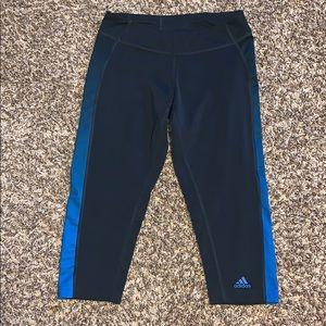 Adidas crop workout leggings